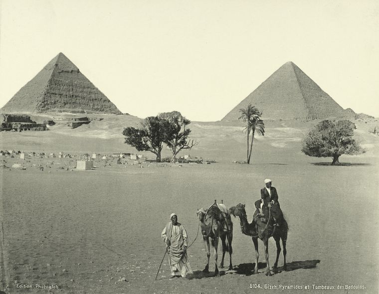 old vintage photos of egypt 1870 1875 10 Rare Photos of Egypt from the 1870s