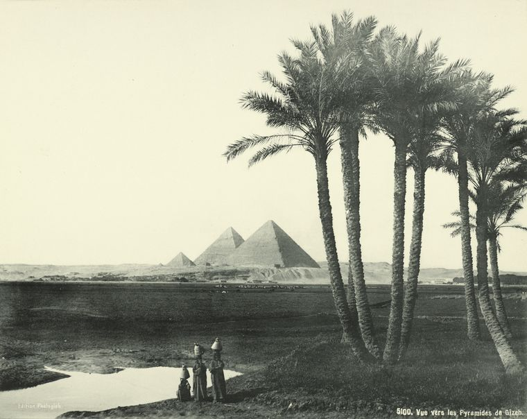 old vintage photos of egypt 1870 1875 11 Rare Photos of Egypt from the 1870s