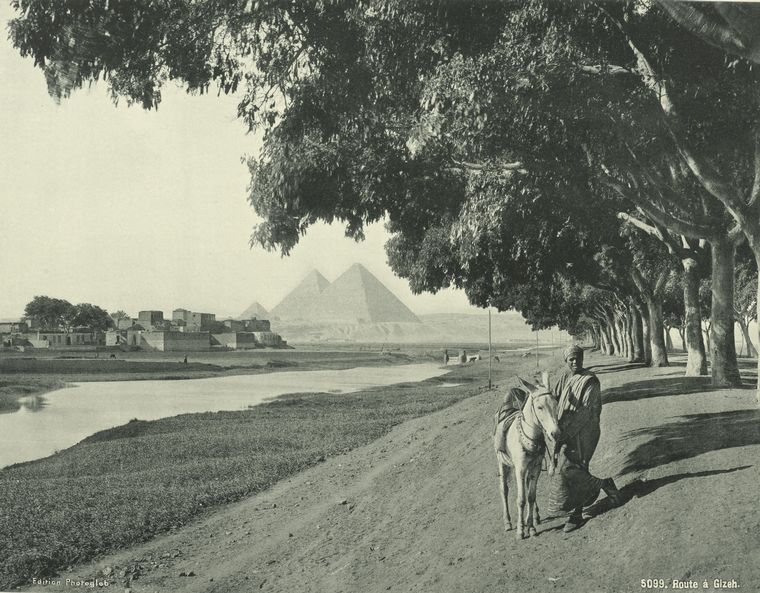 old vintage photos of egypt 1870 1875 12 Rare Photos of Egypt from the 1870s