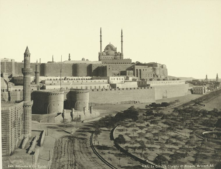 old vintage photos of egypt 1870 1875 17 Rare Photos of Egypt from the 1870s
