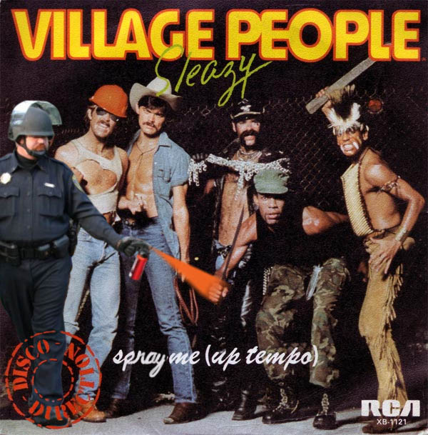 pepper spray village people Pepper Spray All the Things: 35 Funniest Photoshops