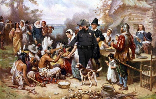 pepperthanksgiving Pepper Spray All the Things: 35 Funniest Photoshops