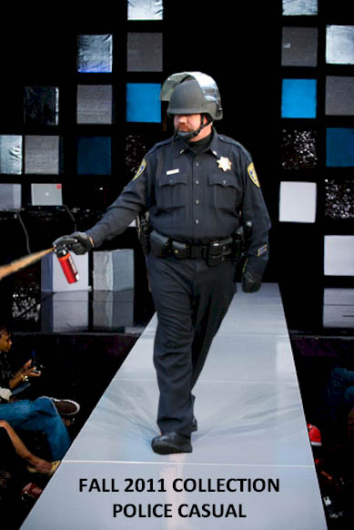 police casual fashion show pepper spray cop Pepper Spray All the Things: 35 Funniest Photoshops