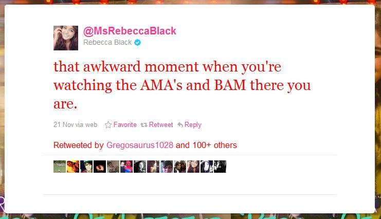 rebecca black humblebrag 50 Hilarious Humble Brags on Twitter