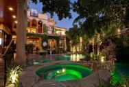A Mediterranean Mansion with Moorish Flair [33 pics]