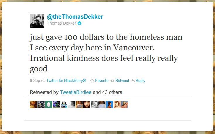 thomas dekker humblebrag 50 Hilarious Humble Brags on Twitter