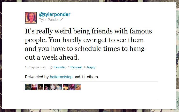 tyler ponder humblebrag 50 Hilarious Humble Brags on Twitter