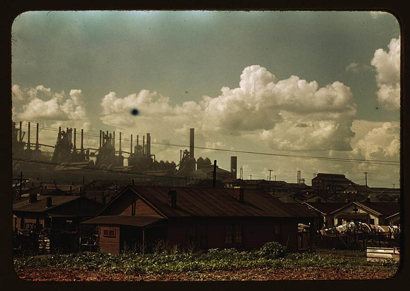 us life in the 1940s color photographs 15 Historic Color Photos of U.S. Life in the 1940s