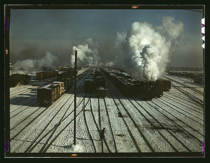 us life in the 1940s color photographs 20 Historic Color Photos of U.S. Life in the 1940s