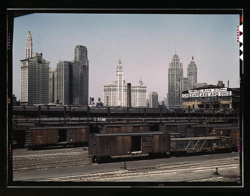 us life in the 1940s color photographs 23 Historic Color Photos of U.S. Life in the 1940s