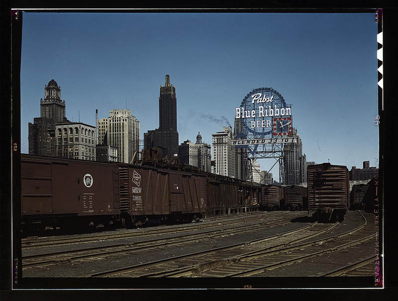 us life in the 1940s color photographs 24 Historic Color Photos of U.S. Life in the 1940s