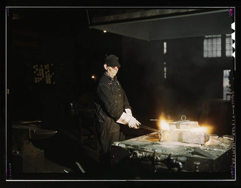 us life in the 1940s color photographs 25 Historic Color Photos of U.S. Life in the 1940s