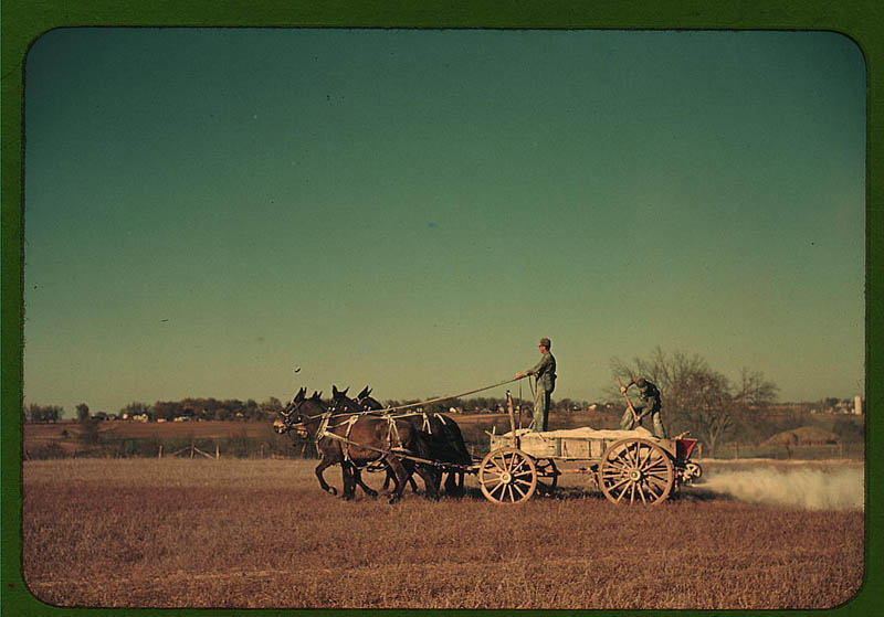 us life in the 1940s color photographs 6 Historic Color Photos of U.S. Life in the 1940s