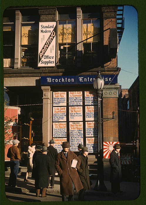 us life in the 1940s color photographs 7 Historic Color Photos of U.S. Life in the 1940s