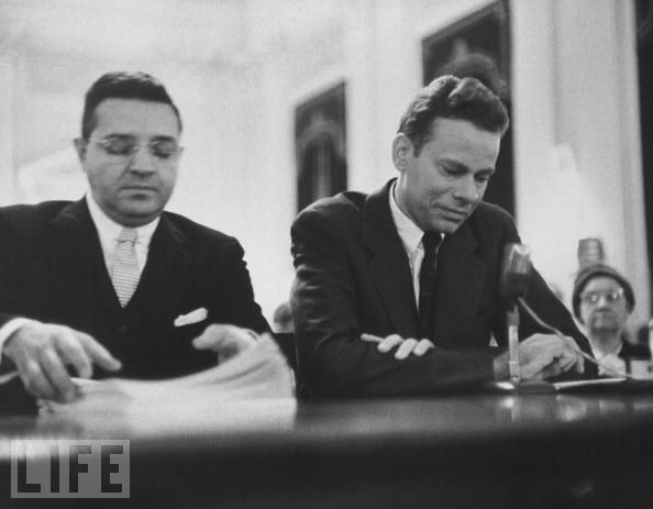 van doren appearing before thea house subcommitee This Day In History   November 2nd