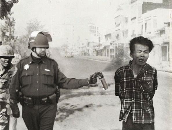 vietnam pepper spray cop Pepper Spray All the Things: 35 Funniest Photoshops