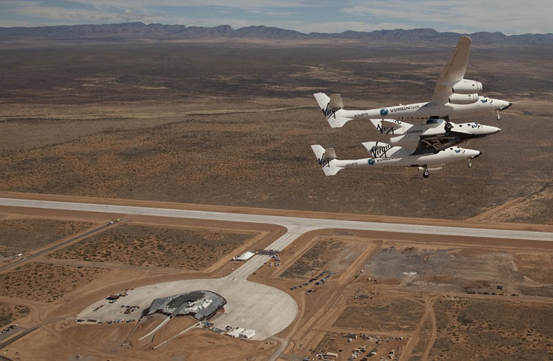 virgin galactic spaceport america aerial birds eye view 1 Picture of the Day: The Final Frontier is Near