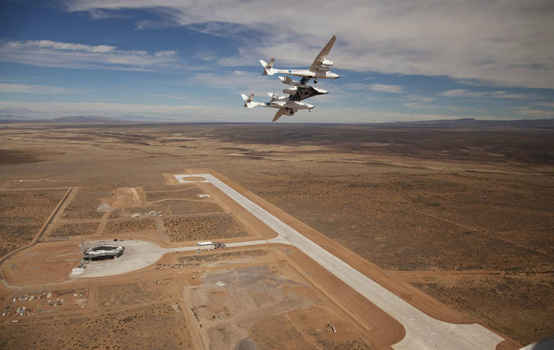 virgin galactic spaceport america aerial birds eye view 2 Picture of the Day: The Final Frontier is Near