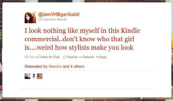 vix hamilton barrittt humblebrag 50 Hilarious Humble Brags on Twitter