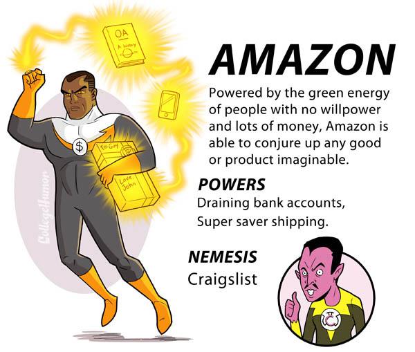 amazon internet superheroes 4 The Internet Superheroes Justice League [6 pics]
