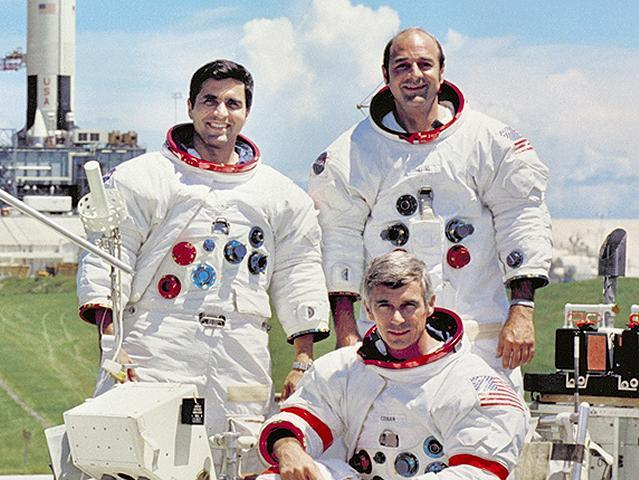 apollo 17 crew This Day In History   December 7th