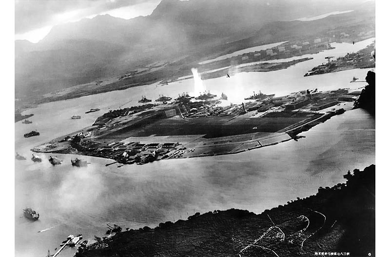 attack on pearl harbor japanese planes view This Day In History   December 7th