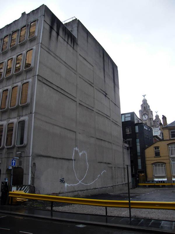 banksy plane stencil street art 3 Banksy Goes on a Holiday Tear [9 pics]