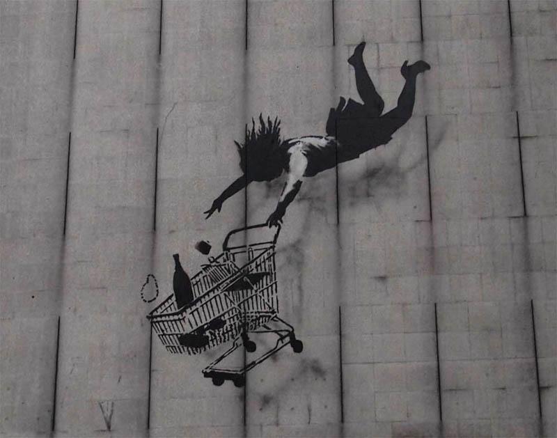banksy shop til you drop 1 Banksy Goes on a Holiday Tear [9 pics]