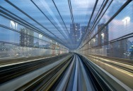 Capturing Speed on a Tokyo Train [15 pics]