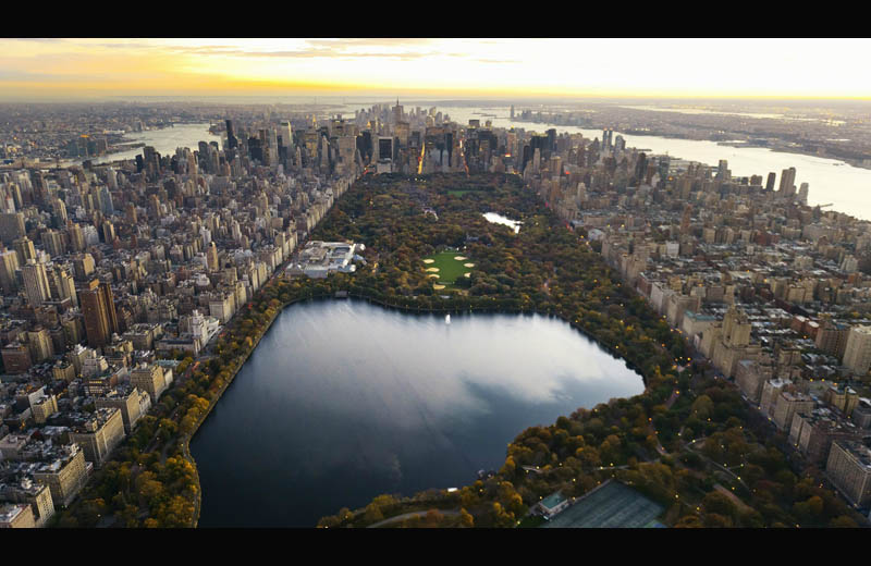 central park new york city from above aerial view Picture of the Day: Central Park from Above