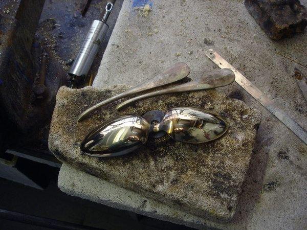 darth vader made from scrap junk bellino alain 4 Darth Vader Mask Made from Scrap Metal