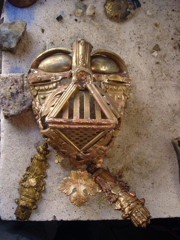 darth vader made from scrap junk bellino alain 7 Darth Vader Mask Made from Scrap Metal