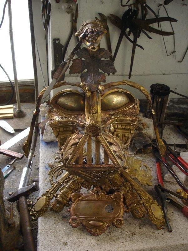 darth vader made from scrap junk bellino alain 8 Darth Vader Mask Made from Scrap Metal