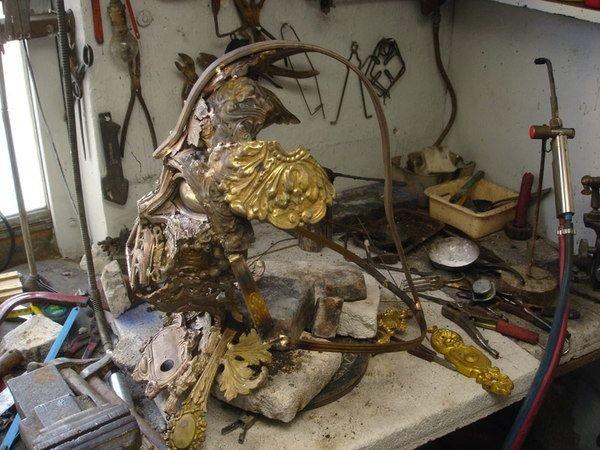 darth vader made from scrap junk bellino alain 9 Darth Vader Mask Made from Scrap Metal