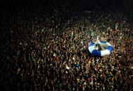 Picture of the Day: Crowd Surfing Like a Boss