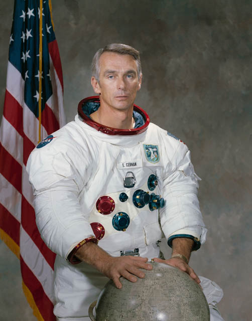 eugene cernan last person on the moon This Day In History   December 14th