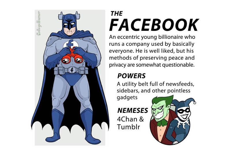 facebook internet superheroes 3 The Internet Superheroes Justice League [6 pics]