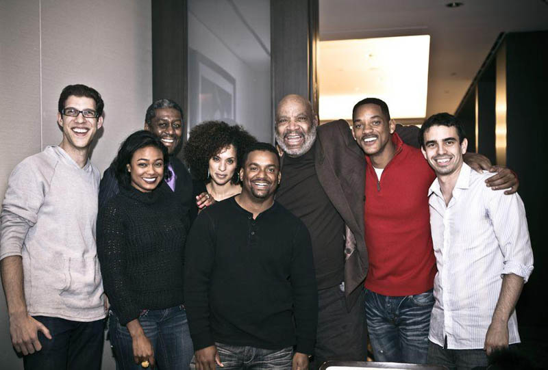 fresh prince reunion picture Picture of the Day: Yo Homes to Bel Air!