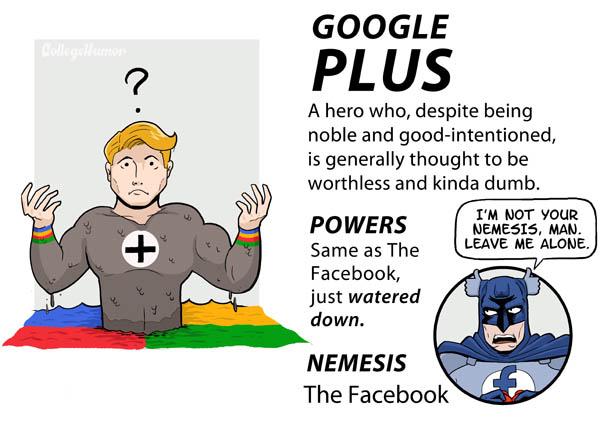 google plus internet superheroes 1 The Internet Superheroes Justice League [6 pics]