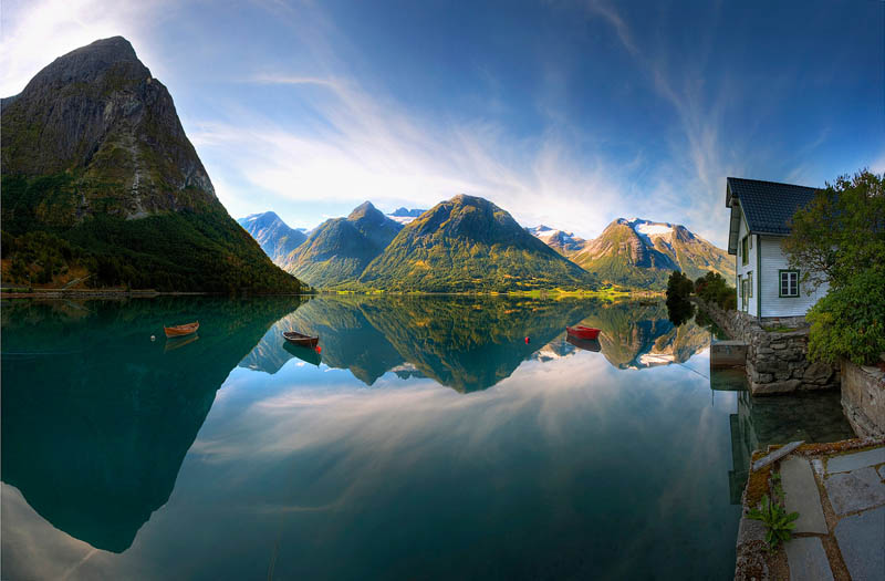 hjelle norway glacier national park Picture of the Day: Meanwhile in Norway