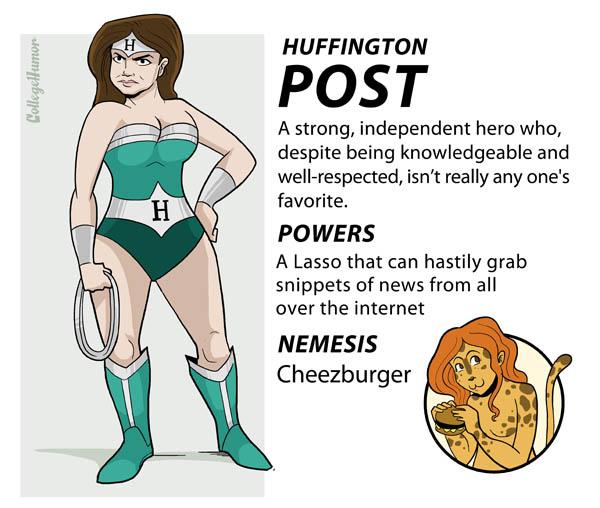 huffington post internet superheroes 5 The Internet Superheroes Justice League [6 pics]