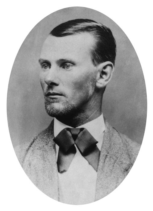 jesse james portrait headshot This Day In History   December 7th