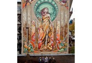 Amazing Lady of Grace Mural in Montreal, Canada