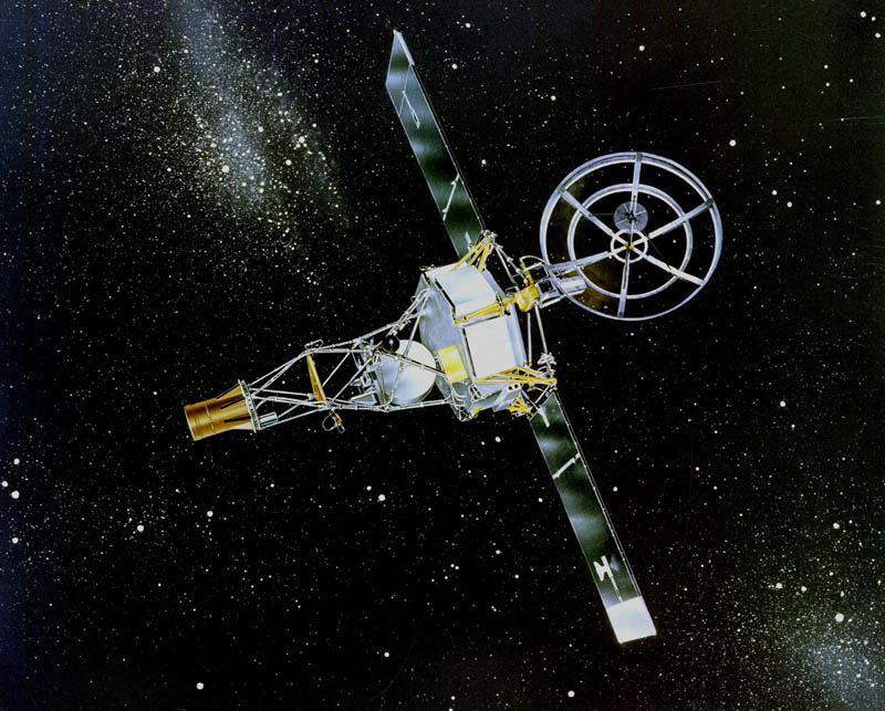 mariner 2 in space first spacecraft to reach venus This Day In History   December 14th