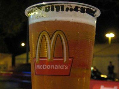 mcdonalds beer germany 29 Exotic McDonalds Dishes Around the World