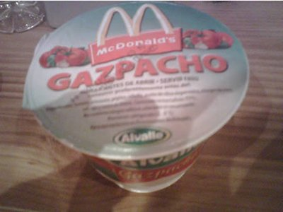 mcdonalds gazpacho soup spain 29 Exotic McDonalds Dishes Around the World