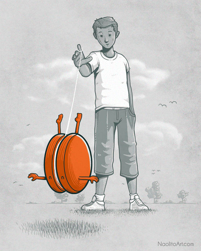 nacho diaz illustrations 10 25 Fun Illustrations by Nacho Diaz
