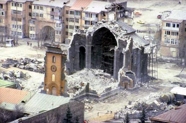 spitak earthquake damage 1988 1 This Day In History   December 7th