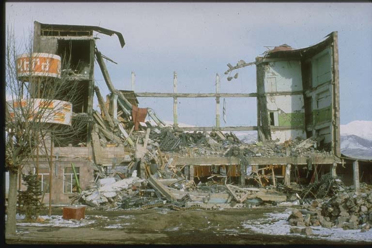 spitak earthquake damage 1988 2 This Day In History   December 7th