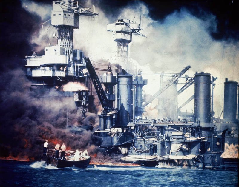 uss west virginia pearl harbor This Day In History   December 7th